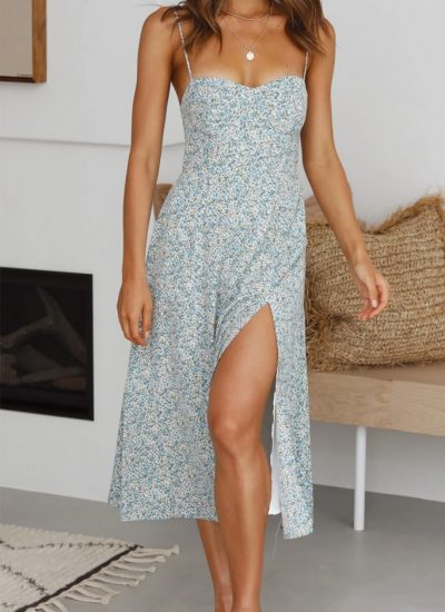 THE MOODSS Louisa Midi Dress-1