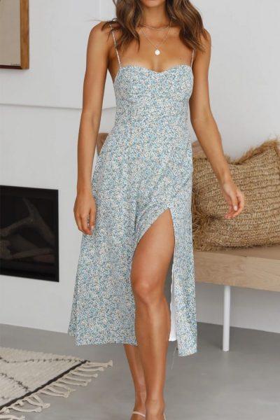 Louisa Midi Dress In 3 Colors