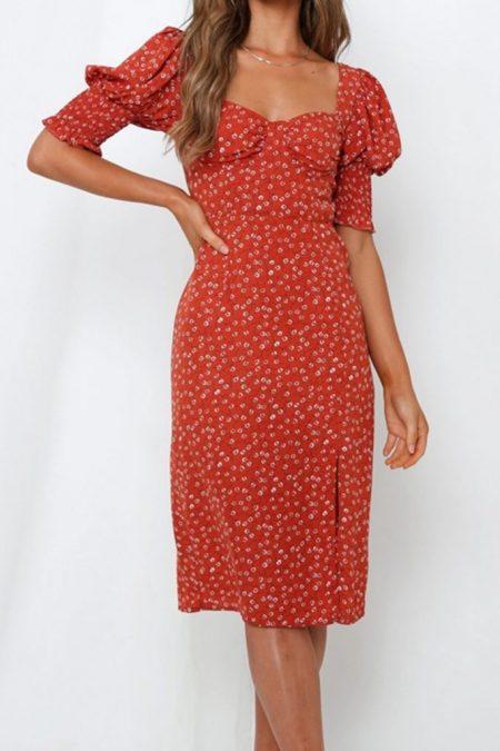 THE MOODSS Mason Midi Dress-1