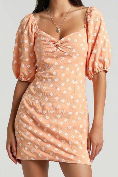 Penelope Mini Dress in 2 Colors
