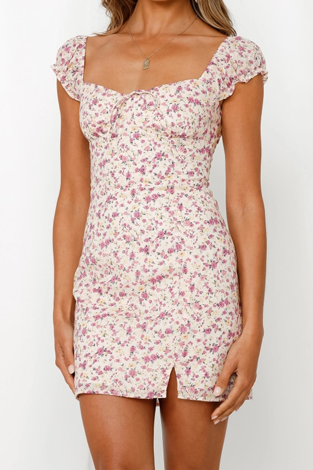 THE MOODSS Rafe Mini Dress-1