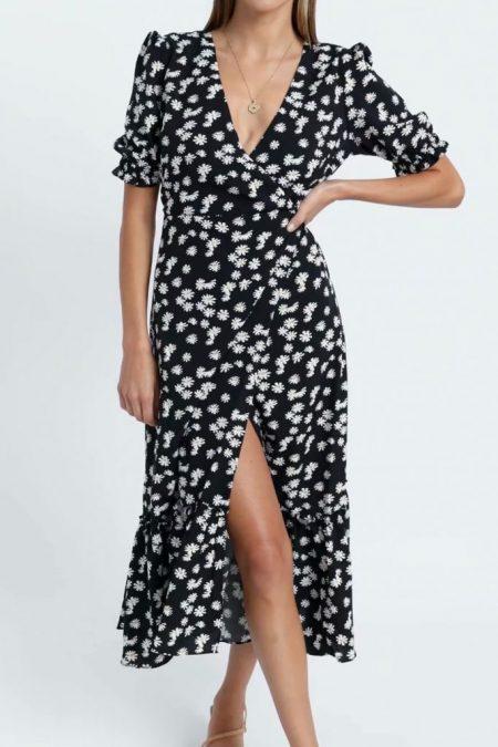 THE MOODSS Solomon Midi Dress-1