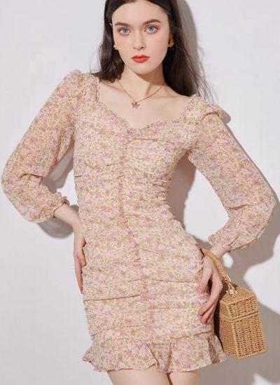 THE MOODSS Sylvie Mini Dress-1