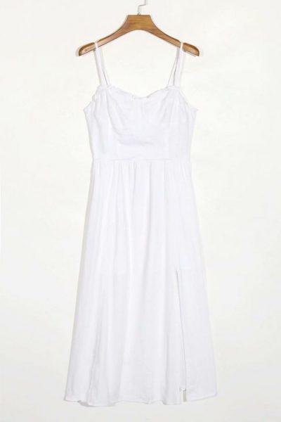 Zelda Linen Midi Dress
