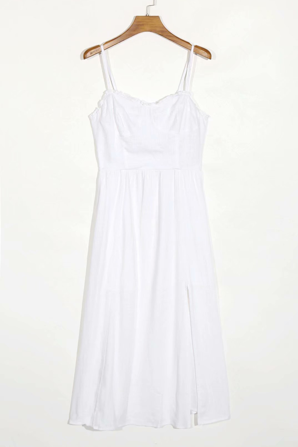 THE MOODSS Zelda Linen Midi Dress-1