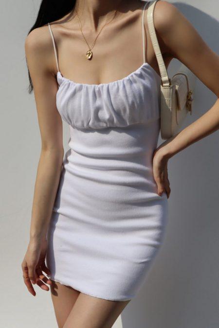 THE MOODSS Dawson Mini Dress-1