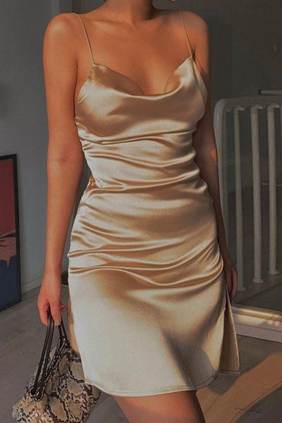 Virgil Mini Dress In 2 Colors