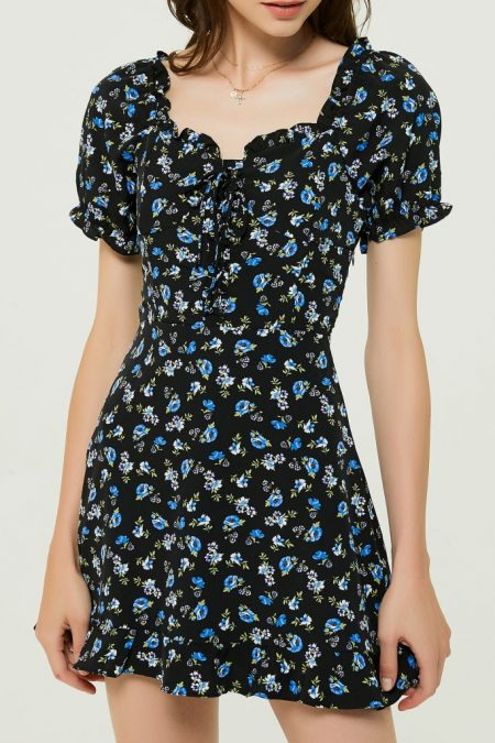 THE MOODSS Agatha Mini Dress-1