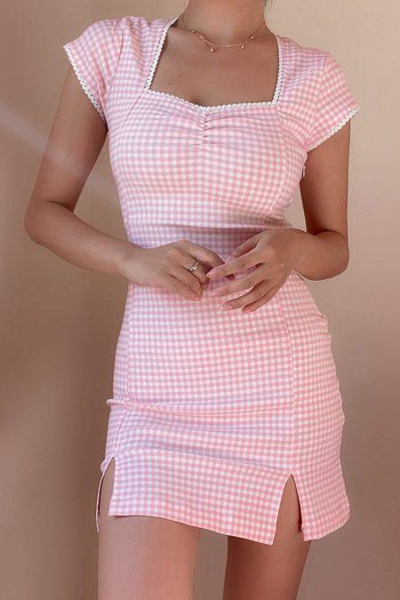 THE MOODSS Dorothea Mini Dress-1