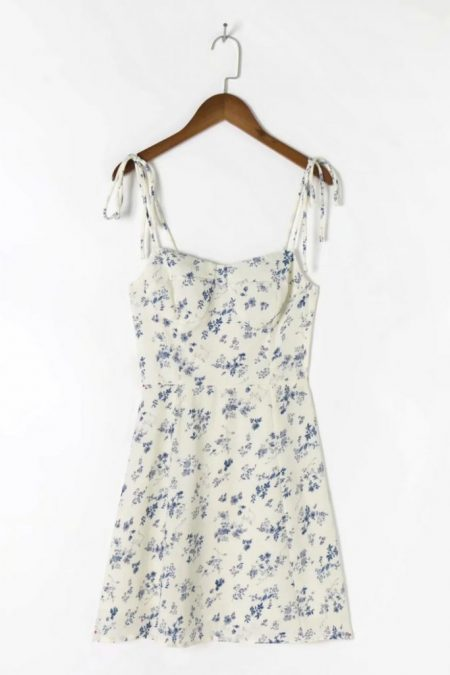 THE MOODSS Noelie Mini Dress-1