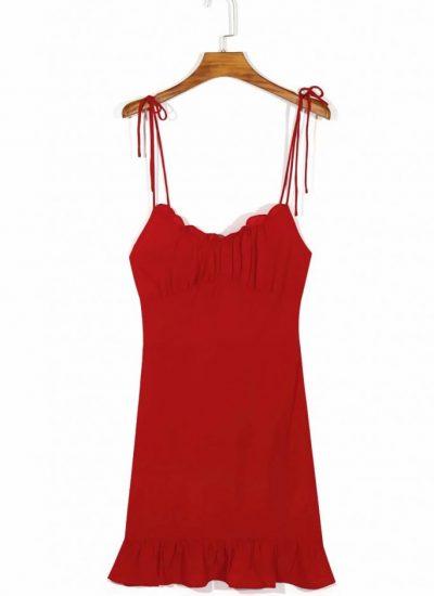 THE MOODSS Posie Mini Dress-1