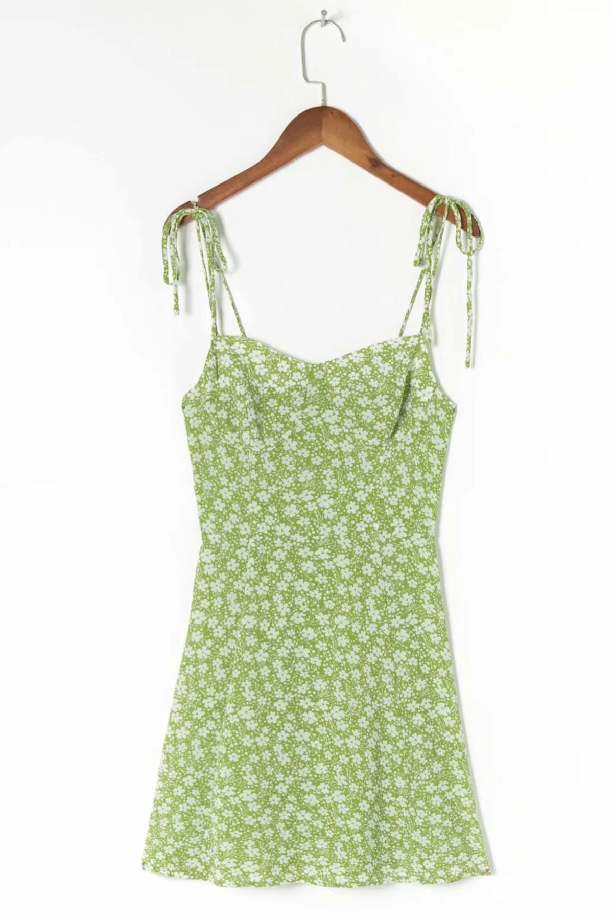 THE MOODSS Tarquin Mini Dress-1