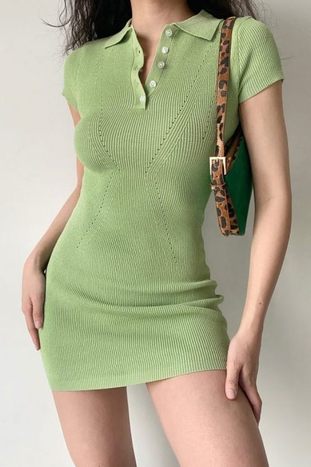 THE MOODSS Vesper Mini Dress-1